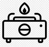 Stove Gas Clipart Cartoon Icon Svg Fire Burner Pinclipart Couch Chemistry Clipartkey sketch template