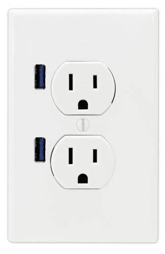 fastmac socket standard duplex dual outlet dual usb 110v