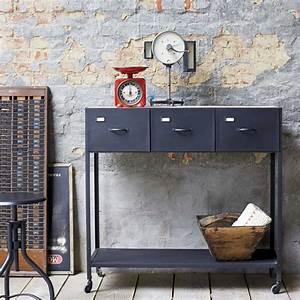 Console Style Industriel : console en m tal style industriel ~ Teatrodelosmanantiales.com Idées de Décoration