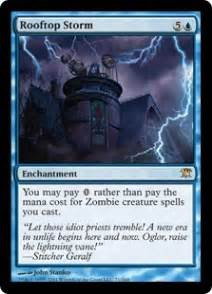 mtg tutorials how does rooftop storm work in edh let s