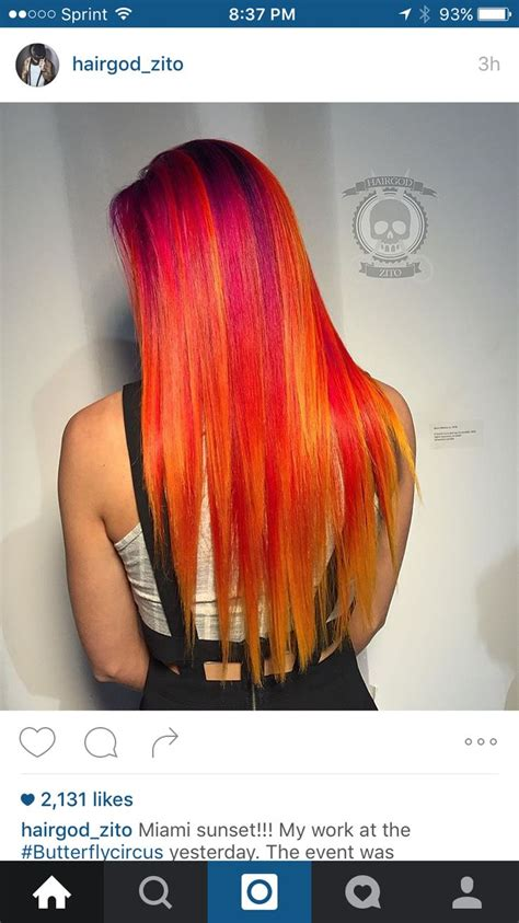 Pin By Mariah Rose On Hair Color Unnatural Pinterest