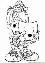 Precious Moments Coloring Pages Printable Drawings Adults Bing Cute Boy sketch template