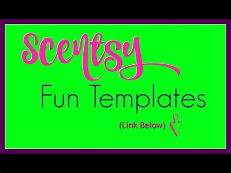 fun scentsy templates     grow  business