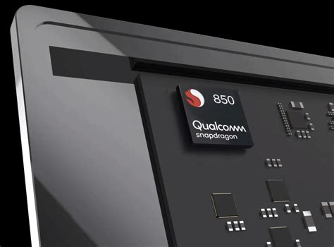 qualcomm launches snapdragon 850 processor for windows 10 arm devices