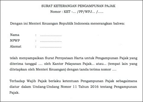 Surat Kuasa Tax Amnesty by Step By Step Amnesti Pajak Ortax Your Center Of