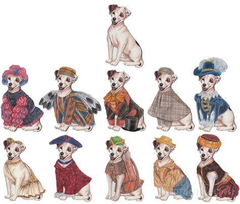 wishbone magicloth costume set outfits by the toy chest