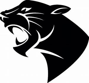 black panther head clipart - Clipground