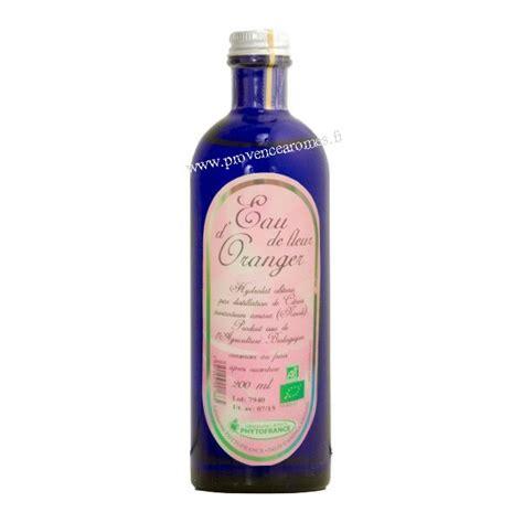 eau de cuisine eau de fleur d 39 oranger néroli bio phytofrance sédatif tout