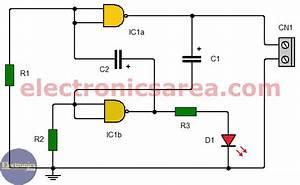 Clock Signal Generator Using 7400 Ic  Pcb