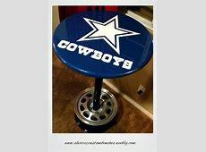 Dallas Cowboys Pub Table by Alvarez LumberJockscom