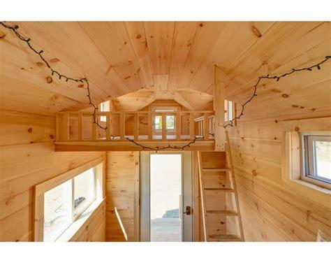 Loft 8 Home Interior : 8x16 Cross Gable Tiny House On A Trailer