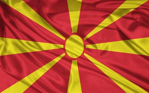 bandera de macedonia fondos de pantalla bandera de