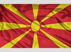 MazedonienFlagge Hintergrundbilder MazedonienFlagge