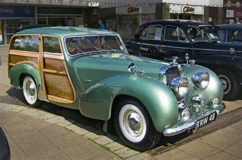 Rare 1948 Triumph Roadster Shooting Brake