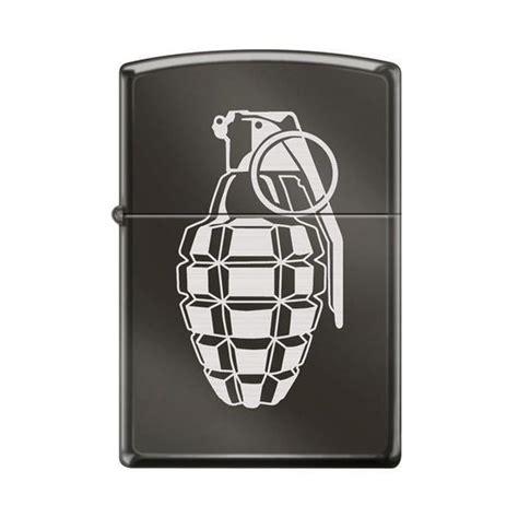Zippo Lighter  Grenade Black Ice  Lighter Usa
