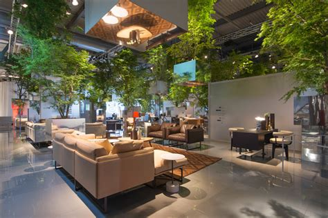 Sou Fujimoto Floats Forest Above Cassina Stand At 2014