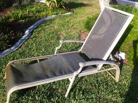 pvc patio chair replacement slings sling replacement before after pictures