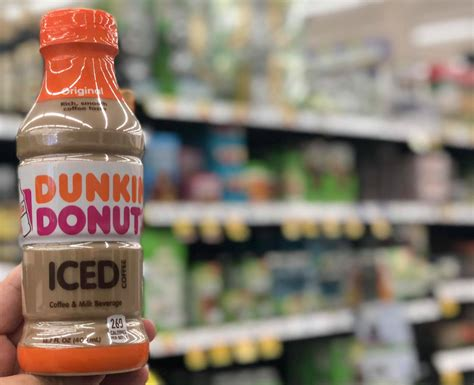Dunkin' donuts will happily tell you that it is the number one seller of flavored hot and iced coffee in america. Pay ONLY $1.00 for Dunkin' Donuts Iced Coffee at Kroger!! ($2.00 for McCafe Frappe)! | Kroger Krazy