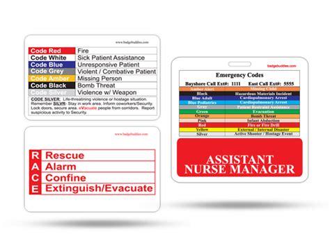 Nursing Supervisor Badge Buddy For Horizontal Id Cards Badge Buddies Customized High Quality Vertical