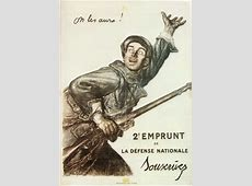 French WWI Propaganda Posters