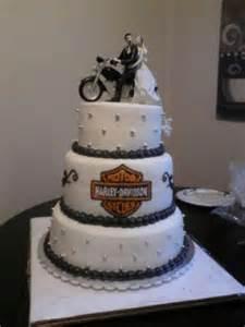 our wedding cake harley davidson