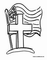 Memorial Coloring Sheets Heroes Veterans Sunday Crafts Clip Printable July Adults Children Flag Church Fourth sketch template