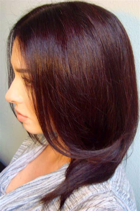 Hair Color Pics by Best 25 Mahogany Brown Hair Ideas On Mahogany