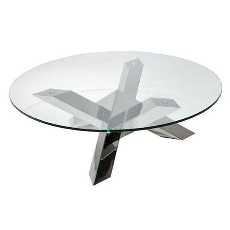 pied de bureau ikea table basse pied en inox tess ronde transparente