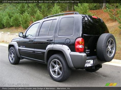 desert tan jeep liberty 2003 jeep liberty freedom edition 4x4 in black clearcoat