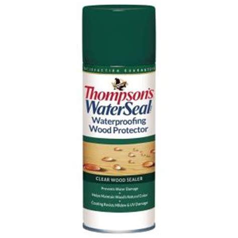 thompsons waterseal  oz clear waterproofing wood