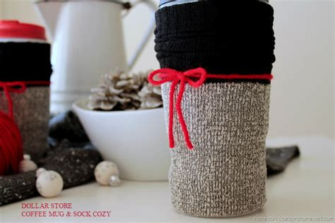 Dollar Store Coffee Mug Sock Cozy Coffee Table Decorations Pictures Winter Starbucks Tall Cup Sale Rose Gold Kicking Horse Medium Roast Yummy Zehrs