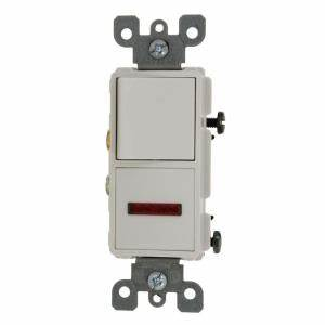 Leviton 15 Amp Decora mercial Grade bination Single