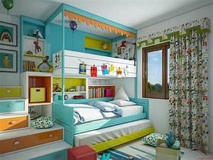 Lit Maison Enfant : chambres d 39 enfant d co hyper color es blog deco tendency ~ Farleysfitness.com Idées de Décoration