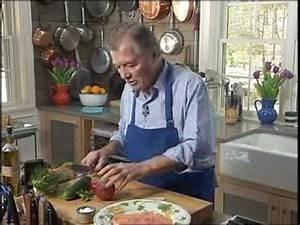 Gravlax Recipe Chef Jacques Pepin - YouTube