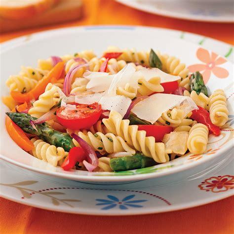 cuisine recettes pratiques fusillis primavera recettes cuisine et nutrition pratico pratique