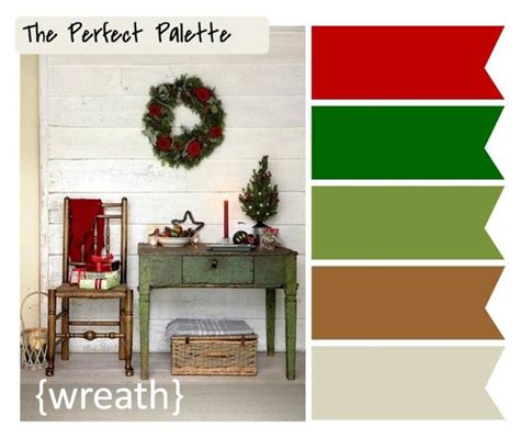 christmas color schemes holiday color palettes what s your favorite