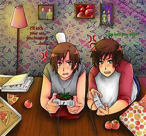 Anime Girl Playing Video Games | www.imgkid.com - The ...