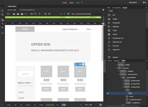 templates for dreamweaver cc buy adobe dreamweaver cc website and web design software