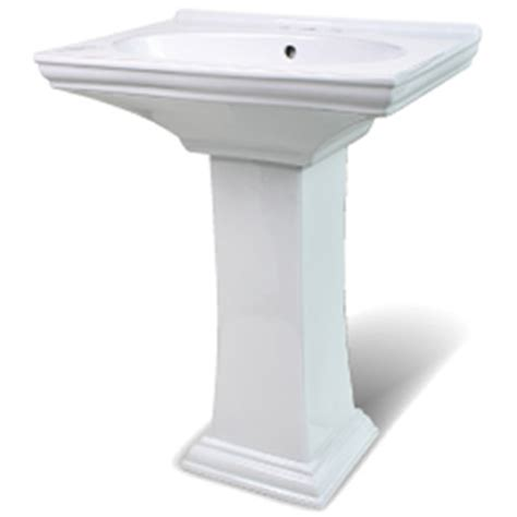 Gerber Pedestal Sink by Lavatory Sinks Bath Sinks Undermount Bowls Glass