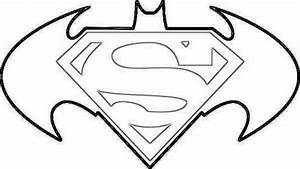 Superman Symbol Coloring Pages For Kids Coloring Pages ...
