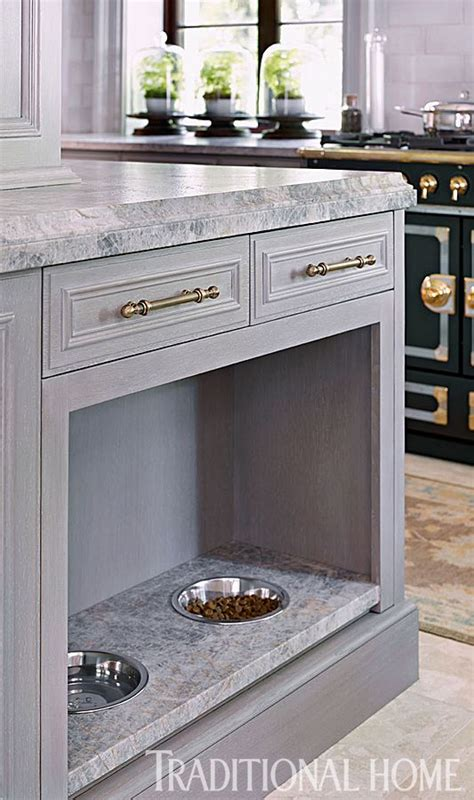 Pet Food Cabinet With Bowls by Creative Ways To Incorporate Pet Items Into Your Home D 233 Cor