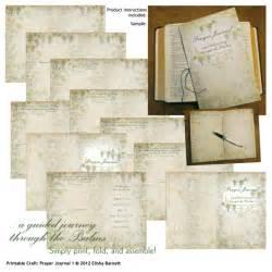 Printable Prayer Journal Craft