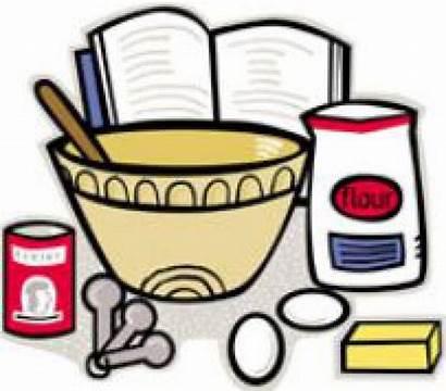 Cookbook Clipart Cookbooks Recipe Cliparts Clip Cooking