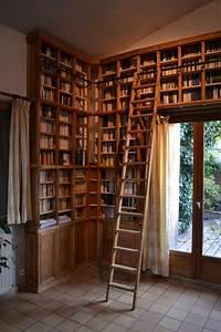 Bibliothque Murale Chne Armarbois Mobilier Bois Sur
