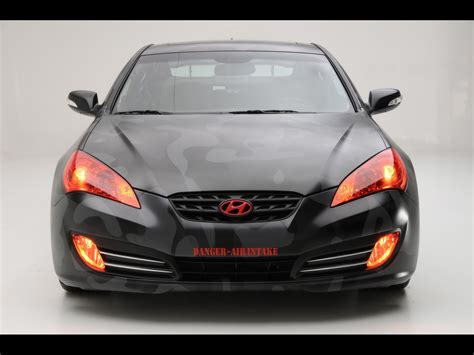 2018 Hyundai Street Concepts Genesis Coupe Front