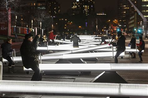montreals winter playground architectural lighting magazine
