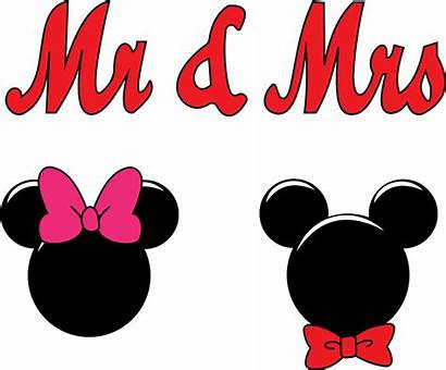 Mickey Minnie Mouse Bow Clipart Mr Mrs