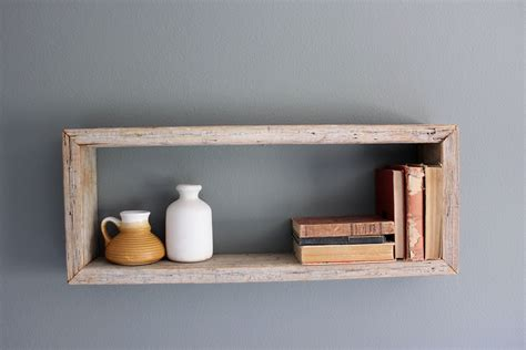 Wood Wall Box Shelves Home Design Ideas