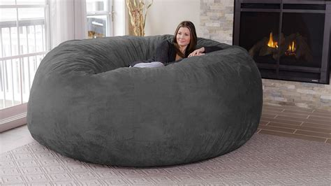 chill bag 8 foot bean bag chair gearnova