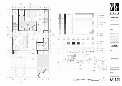 Autocad Template Studio Drawing Architecture Templates Plan